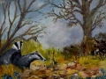 """Badgers"" by Aileen Wheeler"