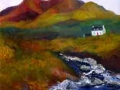 """""""Cottage in the hills"""" by Aileen Wheeler"""