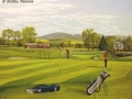 """""""Muthill Golf Course"""" by Bobby Rennie"""