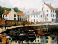 """Crail Harbour"" by Colin Nairns"