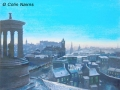 """Calton Hill in Winter"" by Colin Nairns"