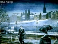 """Princes Street in the 1950's"" by Colin Nairns"