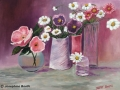 """""""Variety of Vases"""" by Josephine Booth"""