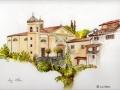 """Church in Supino, Italy"" by Liz Allen"