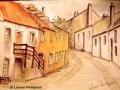 """Culross from Mercat Cross"" by Louise Finlayson"