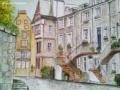 """""""Ramsay Gardens, Edinburgh (3)"""" by Louise Finlayson"""