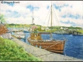 """Crinan Canal Basin, Argyll"" by Maggie Bowie"