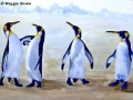 """Emperor penguins"" by Maggie Bowie"