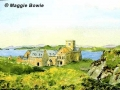 """""""Iona Abbey"""" by Maggie Bowie"""