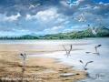 """""""On the ebb tide, River Forth"""" by Margaret MacGregor"""