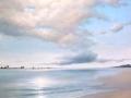 """""""Sunlit sand on the River Forth"""" by Margaret MacGregor"""