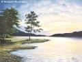 """""""Sunrise on Loch Earn"""" by Margaret MacGregor"""