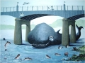 """""""Moby the whale at Kincardine Bridge"""" by Margaret MacGregor"""