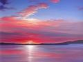 """Sunset from my studio"" by Margaret MacGregor"