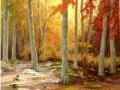 """""""Larbert wood in autumn"""" by Margaret MacGregor"""