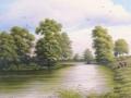"""""""The Bannockburn in spring"""" by Margaret MacGregor"""