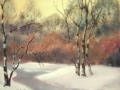 """Winter sun"" by Margaret Robertson"
