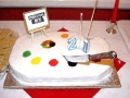 Our 21st Anniversary Cake in 2007