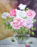 """Bouquet of roses"" by Anne Whigham"