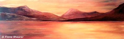 """Setting Sun"" by Fiona Shearer"