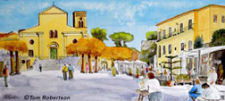 """The Piazza Vescovado, Italy"" by Tom Robertson"