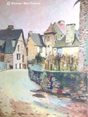 """Segur le Chateaux, France"" by Sharon MacDonald"