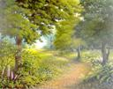 """Callendar Wood, Falkirk"" by Margaret MacGregor"