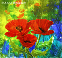 """Simply red"" by Anne Whigham"