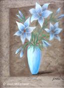 """""""Blue Lilies"""" by Joan McLelland"""