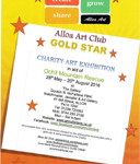 alloa art club exh poster - 72 4.5